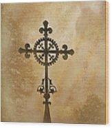 Filigree Cross The Forgotten Series 10 Wood Print