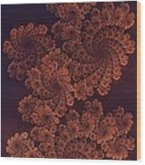 Filigree Dragon Wood Print