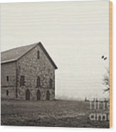 Filley Stone Barn 2 Wood Print