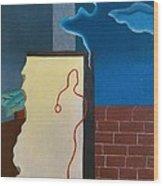 Fillia Luigi Colombo, Waiting, 1929 Wood Print by Everett