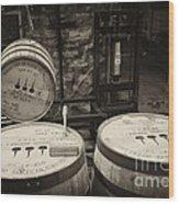 Filling Station - D008777 Wood Print