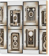 Film Camera Proofs 4 Wood Print