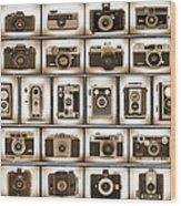 Film Camera Proofs Wood Print