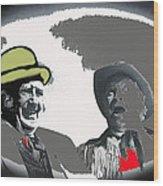 Film Homage Andy Devine  Chill Wills Old Tucson Arizona 1971-2009  Wood Print