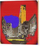 Film Homage Arthur Rothstein Theater Row  Majestic Melba  Palace Theaters Dallas Texas 1942-2008 Wood Print