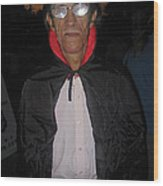 Film Homage Bela Lugosi Dracula 1931 Halloween Party Casa Grande Arizona 2005 Wood Print