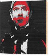 Film Homage Bela Lugosi Mark Of The Vampire 1935-2013 Wood Print