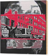Film Homage Funeral In Berlin 1966 Orpheum Winter Carnival Parade Collage St. Paul Mn 1967-2008  Wood Print