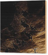 Film Homage F.w. Murnau Sunrise 1927 Midway Arizona State Fair Phoenix 1980-2008 Wood Print