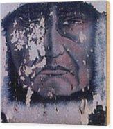 Film Homage  Iron Eyes Cody The Big Trail 1930 Crying Indian Black Canyon Arizona 2004-2008  Wood Print
