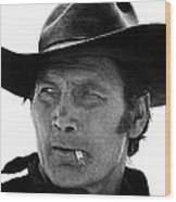 Film Homage Jack Palance Monte Walsh Set Old Tucson Arizona 1969 Wood Print