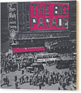 Film Homage John Gilbert King Vidor The Big Parade 1925 Color Added 2010 Wood Print