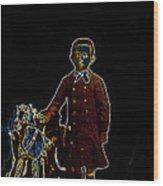 Film Homage John Mills Rocking Horse Winner 1949 Tucson Arizona Circa 1890-2008 Wood Print