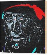 Film Homage Kirk Douglas And Vincent Minnelli Lust For Life 1956 Old Tucson Arizona 1971 Wood Print