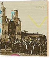 Film Homage Rouben Mamoulian  Ida Lupino  The Gay Desperado 1 1936 San Xavier Tucson Wood Print
