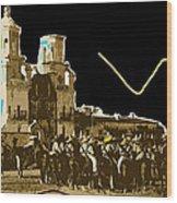 Film Homage Rouben Mamoulian  Ida Lupino  The Gay Desperado 2 1936 San Xavier Tucson Wood Print