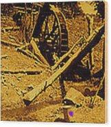 Film Homage Sergei Eisenstein Sutter's Gold 1930 Mining Sluice 1880's-2008 Wood Print
