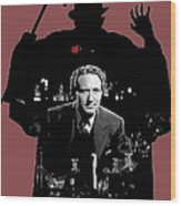 Film Homage Spencer Tracy Dr. Jekyll And Mr. Hyde 1941-2014 Wood Print