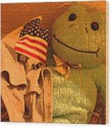 Film Homage The Muppet Movie 1979  Number 2 Froggie Smudge Stick Casa Grande Az 2004-2009 Wood Print
