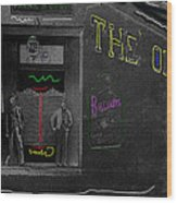 Film Homage The Quiet Man 1952 The Old Corner Saloon  Red Light District Tucson Arizona C.1880-2008  Wood Print