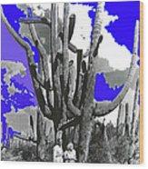 Film Homage Victor Fleming Jean Harlow Bombshell 1933 Saguaro Nat'l Monument Tucson 2008 Wood Print