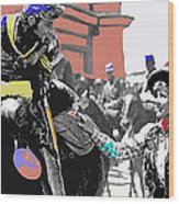 Film Homage William Holden Jean Arthur Arizona 1940 Stage Depot Old Tucson Arizona 1940-2008 Wood Print