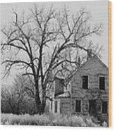 Film Noir Edward G. Robinson Julie London The Red House 1947 1 Farm House Aberdeen Sd 1964 Wood Print