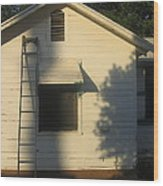 Film Noir John Garfield Lana Turner The Postman Always Rings Twice Ladder House Black Canyon Az Wood Print