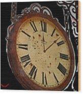 Film Noir Ray Milland Charles Laughton John Farrow The Big Clock 1948 Clock Casa Grande Arizona 2004 Wood Print