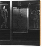 Film Noir Richard Widmark Night And The City 1950 2 Johnny Gibson Health And Gym Equipment Tucson Az Wood Print