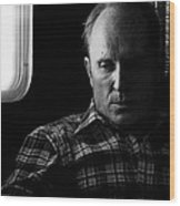 Film Noir Robert Duvall The Outfit 1973 Pursuit Of D.b. Cooper Set Trailer Tucson Arizona 1980-2008 Wood Print
