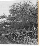 Film Noir Robert Ryan Ida Lupino On Dangerous Ground 1952 2 Wagon Snow Aberdeen Sd 1965 Wood Print