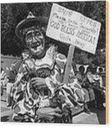 Film Noir Robert Siodmak  George Sanders Strange Affair Of Uncle Harry Clown Tucson Arizona Wood Print