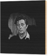 Film Noir The King Of Noir Robert Mitchum Young Billy Young Set Old Tucson Arizona 1968 Wood Print