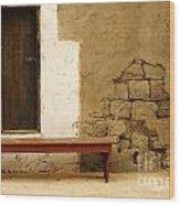 Village Doorway Wood Print