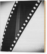 Film Strip Wood Print by Tim Hester