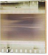 Film Strips Wood Print