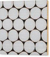 Filter Cigarettes Wood Print