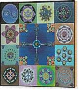 Fimo Mandala Wood Print