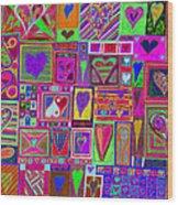 find U'r love found v5 Wood Print