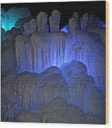 Finger Ice Wood Print