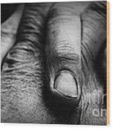 Fingers Wood Print