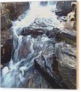 Finlay Park Waterfall Wood Print