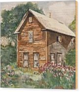Finlayson Old House Wood Print