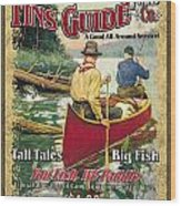 Fins Guide Service Wood Print by JQ Licensing