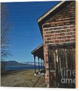 Fintry Andblue Skies IIi Wood Print