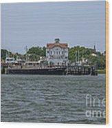Fort Sumter Pilot  Wood Print