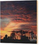 Glorious Sky Wood Print