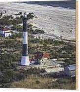 Fire Island Lighthouse 2  4389 Wood Print