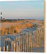 Fire Island Lighthouse, Long Island, Ny Wood Print